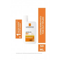 Anthelios invisible Fluid Face Sun Cream Normal/Karma Skins Spf50+ High Protection 50 ml