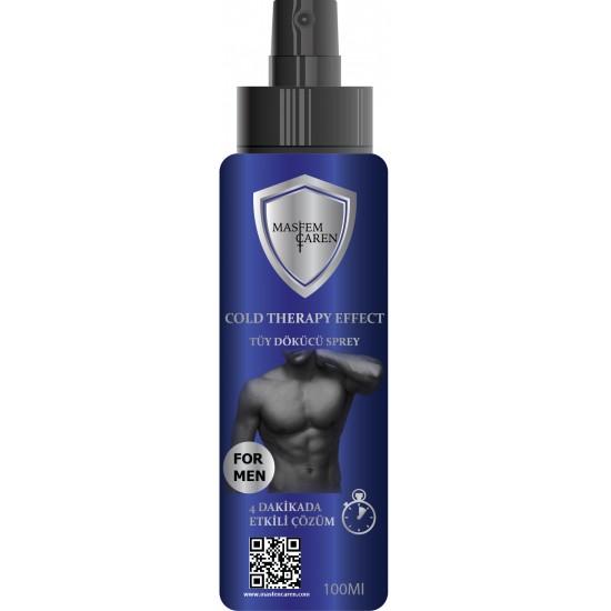 Masfem Caren Cold Therapy Effect Depilatory Spray For Man